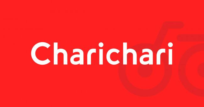 Charichari(チャリチャリ)ロゴ
