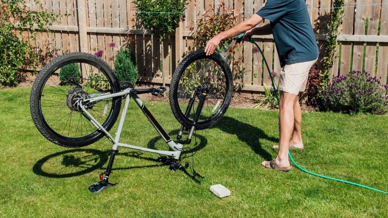 ロードバイク 洗車 メンテナンス