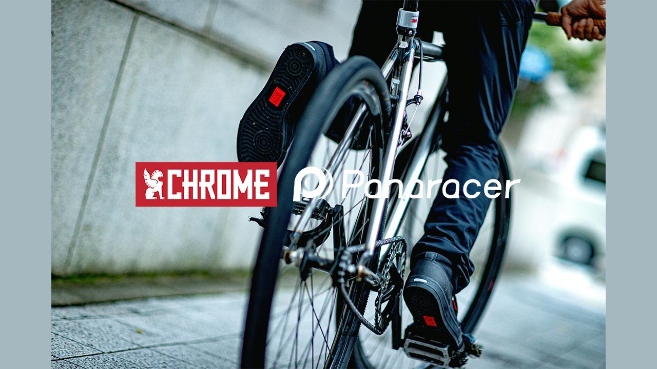 chrome×panaracer