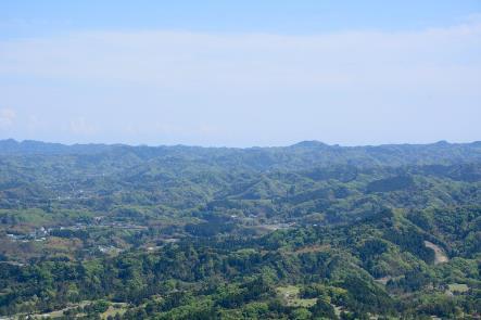 鹿野山の景色
