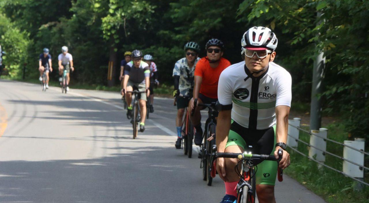 天鏡台・昭和の森公園を目指してサイクリング