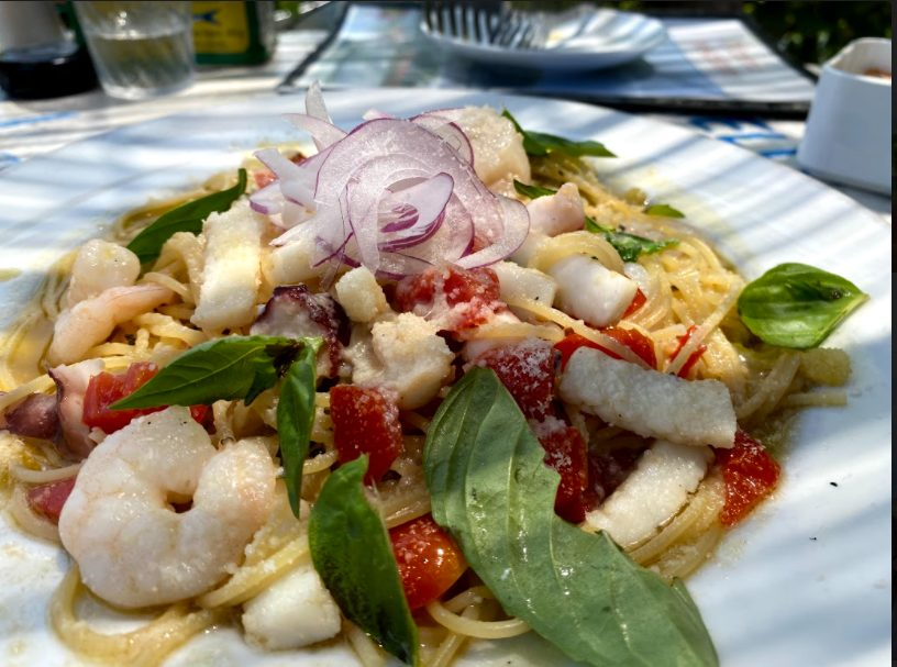 ピッツェリア ペスカトーレ白浜の料理