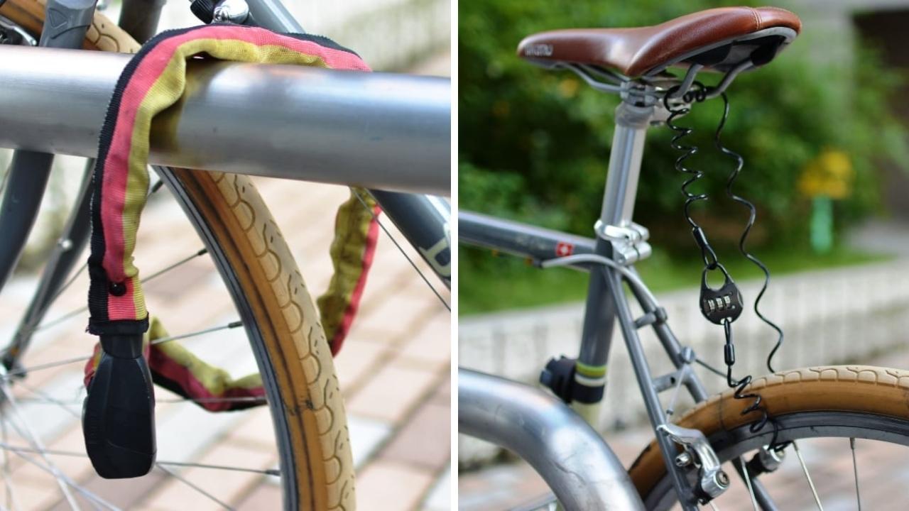 ロードバイク 鍵 ロック