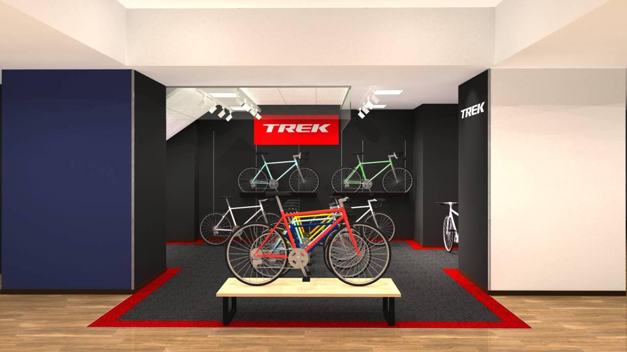 ワイズロード 川崎店 9月16日(木)に 「TREK bike powered by Y'sRoad」をオープン