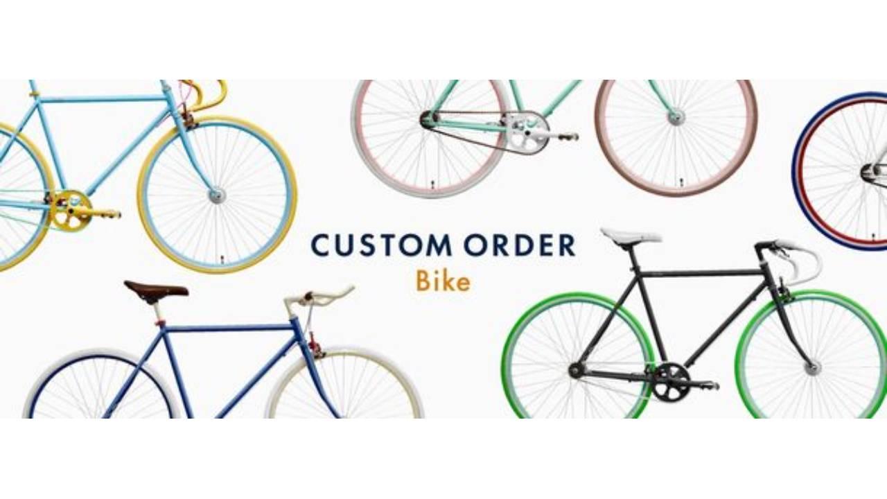 受け取った人が自分仕様の自転車を注文、オンラインで完結するeギフト